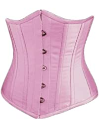 Women's Plus Size Waist Cincher Corset Underbust Body Shaper With G-String