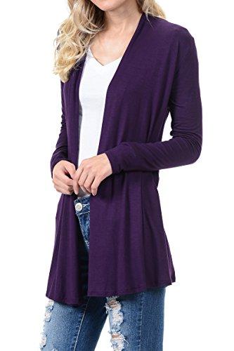 Pastel by Vivienne Women's Long Sleeve Jersey Cardigan lovely