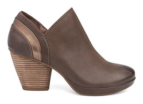 Dansko Teak Mid Heel Ankle Boots Women's Marcia d8n7Ow1qZZ