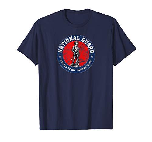 National Guard Vintage Shirt US Veteran Gift T-Shirt