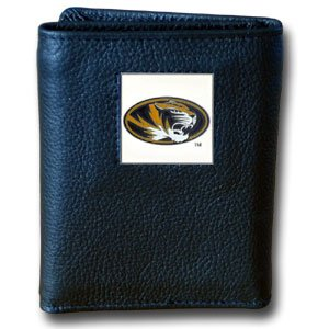 Missouri Tigers Executive Leather Trifold Wallet - NCAA College Athletics Fan Shop Sports Team Merchandise