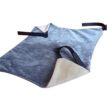 Ampliar mascotas gato hamaca cómoda hamaca colgante mascota cama para gato, Totoro, conejos o ather animales pequeños: Amazon.es: Productos para mascotas