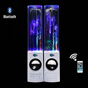 Oisound Wireless bluetooth Music Fountain Dancing Water Speakers/Apple Speakers(White)
