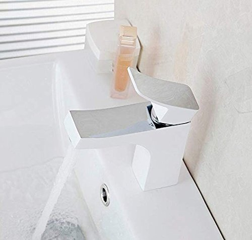 Retro Deluxe Faucetingingbasin Faucet Bathroom Basin Mixer Faucet Deck Mounted Single Handle Brass Material Hot and Cold Water Mixer Taps