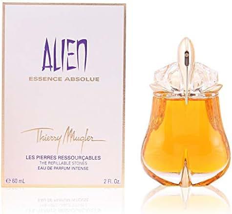 Thierry Mugler Alien Essence Absolute Eau De Parfum Intense Refillable Spray, 1 Ounce