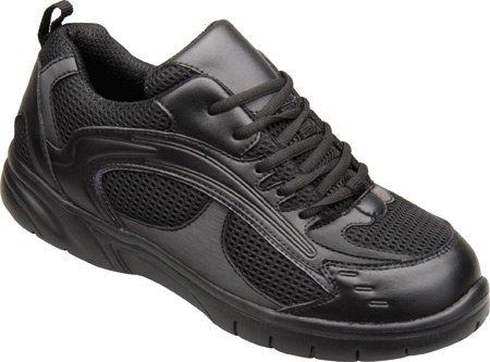 Mt. Emey Men's 9701-1L Walking Shoes,Black,9 2E US