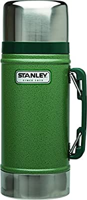 Stanley Wide Mouth Bottle Green 24 Oz Stainless Steel by Pacific Market International L