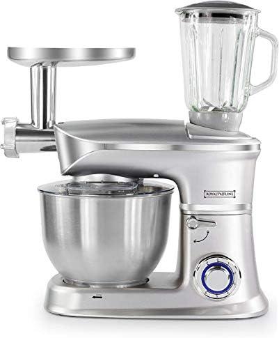 Royalty Line - Robot de cocina multifunción de 1900 W, mezclador, triturador, picadora, batidora, batidora: Amazon.es: Hogar