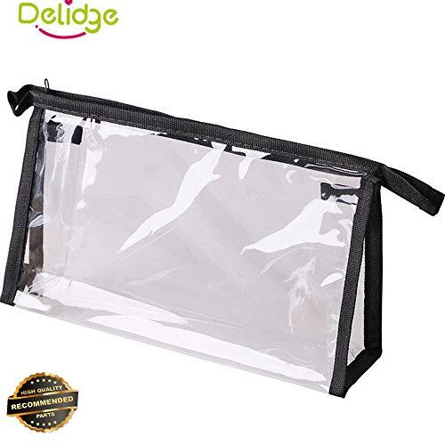 Gatton Cosmetic Beauty Makeup Bag Case Organizer Zipper Holder Handbag Travel WashPouch | Style TRVIHR-11291980 ()