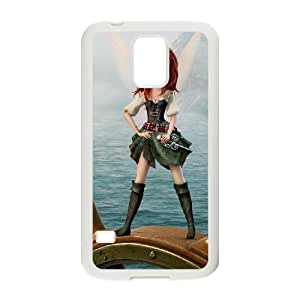Samsung Galaxy S5 I9600 Csaes phone Case ThePirate Fairy HDXZ91957