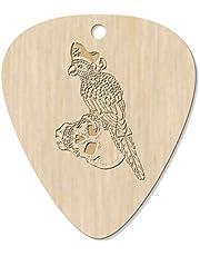 7 x 'Parrot Pirate' Guitar Picks / Pendants (GP00021199)