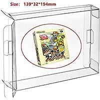 Childhood 10Pcs Clear Box Case Sleeve CIB Display Protector for N64 Games Cartridge Box Japan Version