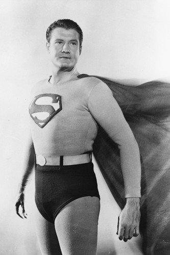 Risultati immagini per george reeves superman