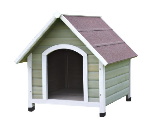 TRIXIE Pet Products Nantucket Dog House, Medium, Gray/White