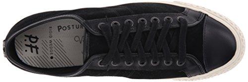 Pf Flyers Heren Rambler Lo Fashion Sneaker, Zwart, 8.5 D Ons