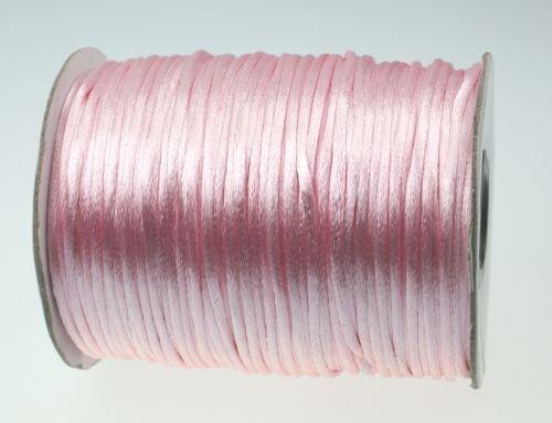 100m Rotolo corda di raso–Spessore 2mm–colore: rosa Unbekannter Hersteller
