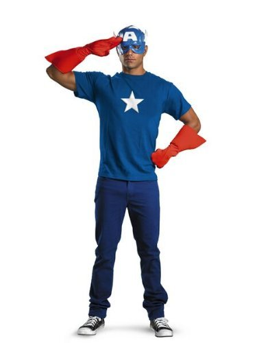 Captain America Kit Costume -