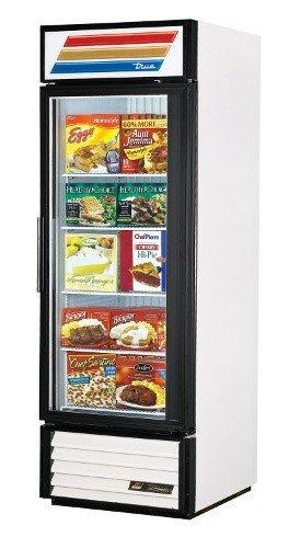 True GDM-23F-LD F-Series Glass Swing Door One Section Reach-In Merchandiser Freezer -