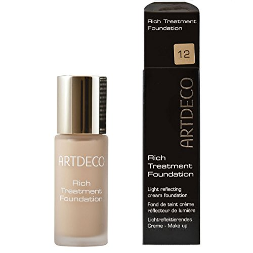 Artdeco Make-Up femme/woman, Rich Treatment Foundation Nummer 12 Vanilla rose, 1er Pack (1 x 20 ml)
