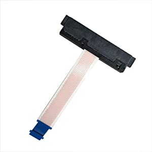GinTai HDD SATA Hard Drive Cable SSD Connector for Dell Inspiron 15 5555 5558 5559 /Vostro 3458 3459 3558 3568 0H5G06 H5G06 NBX0001QE00