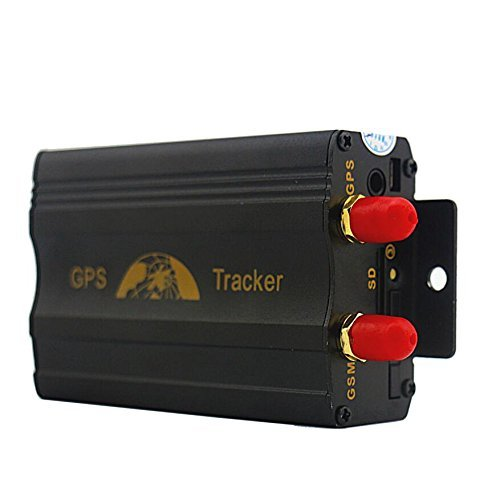 Sourcingbay Vehicle Car GPS Tracker 103A GPS/GSM/GPRS System Quad band Real-time Google Map Tracking