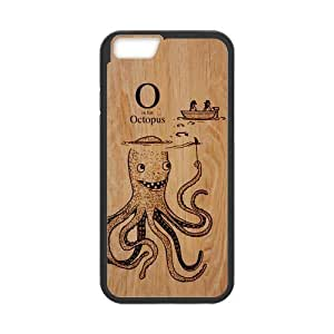 Canting_Good Octopusl Custom Case Shell Skin for iPhone6 4.7 (Laser Technology)