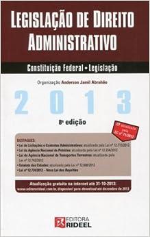Legislacao De Direito Administrativo