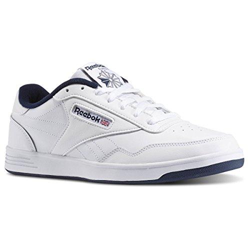 Reebok Men's Club MEMT Athletic Shoe, us-White/Collegiate Navy, 10 M - Club Athletic