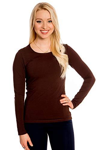 Dutch Long Sleeve - Full Sleeve Tops for Women Long Sleeve Dutch Brown Medium
