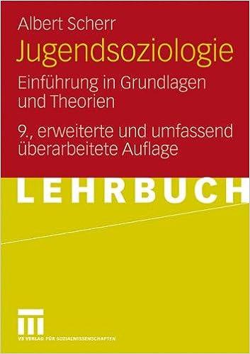 Book Jugendsoziologie: Einführung in Grundlagen und Theorien