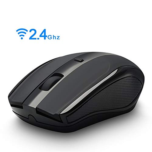 QLPP Wireless Mouse, 2.4G Computer Mouse,Wireless USB Mouse,2 Buttons Ergonomic Mouse,1600 DPI Optical Mouse,PC Wireless Mouse for Home Office