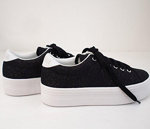 Blanc Plato Black Strass Plato Sneaker Sneaker Blanc w7qS4OP