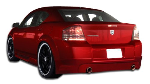 Duraflex ED-LMA-002 Racer Side Skirts Rocker Panels - 2 Piece Body Kit - Fits Dodge Avenger (Body Kit Racer Kit)