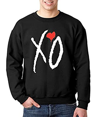New Way 189 - Crewneck XO The Weeknd Unisex Pullover Sweatshirt XL Black