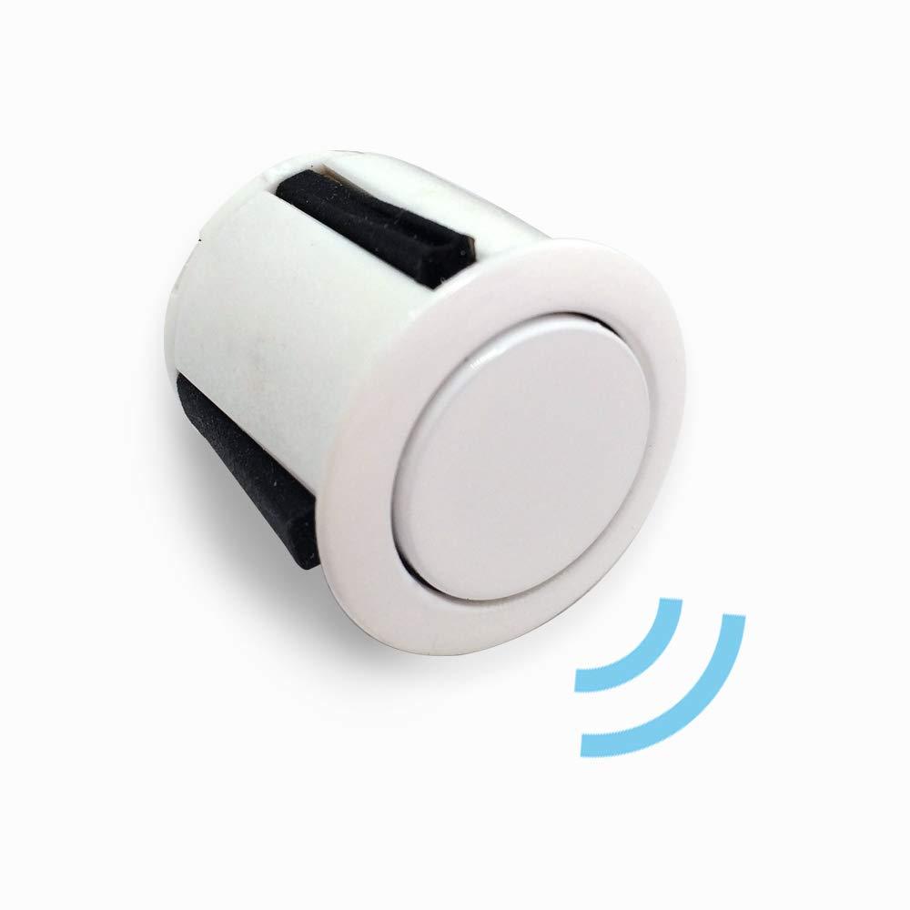 BEEPER Radar de recul 4 capteurs Blancs RE002A//4-B