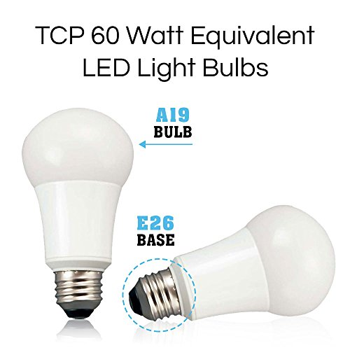 from usa tcp 9w led light bulbs 60 watt equivalent a19. Black Bedroom Furniture Sets. Home Design Ideas