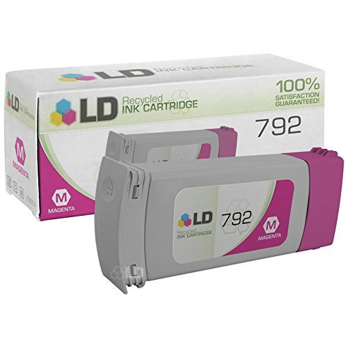 LD Remanufactured Ink Cartridge Replacement for HP 792 CN707A (Magenta) (L26500 Hp)