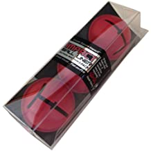 EyeLine Golf Ball Liner By Hank Haney-Pack of 3 (Red)