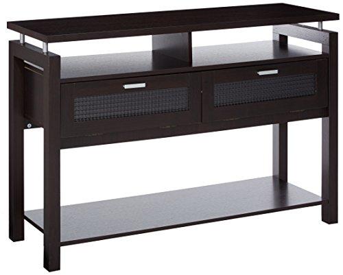 247SHOPATHOME YNJ-1532C5, Sofa Table, Espresso