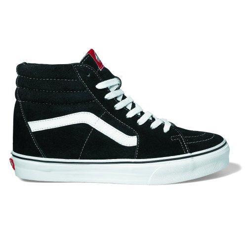 Vans Sk8 Salut-checkerboard, Unisexe - Chaussures De Sport Noir Adulte -skateboarding (noir / Blanc)