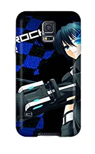 Special Design Back Black Rock Shooter Phone Case Cover For Galaxy S5