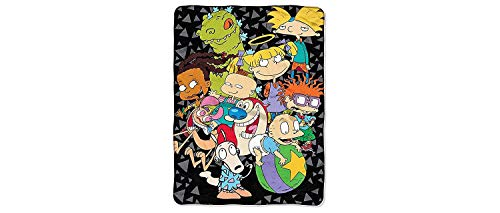 UPD The Northwest Company Nickelodeon Rewind The Spin Room Micro Raschel Throw (46