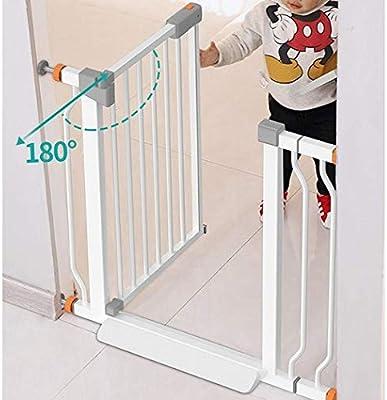 ADWN Valla Puerta del bebé Expandablesafety puertas de la escalera Baranda Chimenea presión de la instalación de protección Barandilla del perro casero Aislamiento Barandilla Monte,High78cm Ancho,153: Amazon.es: Bricolaje y herramientas