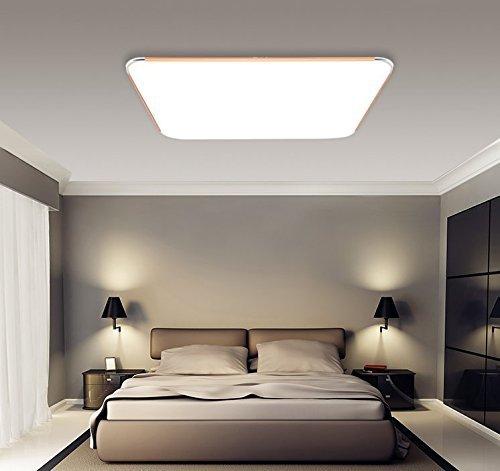 Moderne Wohnzimmerlampe wohnideen wohnzimmer wandgestaltung beige dekokissen pflanzen Sailun 12w Kaltwei Ultraslim Led Deckenleuchte Modern Deckenlampe Flur Wohnzimmer Lampe Schlafzimmer Kche Energie Sparen Licht Wandleuchte Farbe Golden