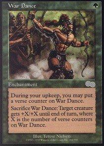 Magic The Gathering - War Dance - Urza's Saga