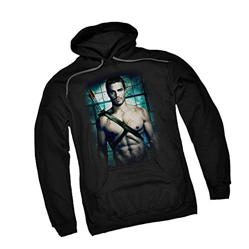 Shirtless -- CW's Arrow - The Television Series Adult Hoodie Sweatshirt, XXX-Large ()