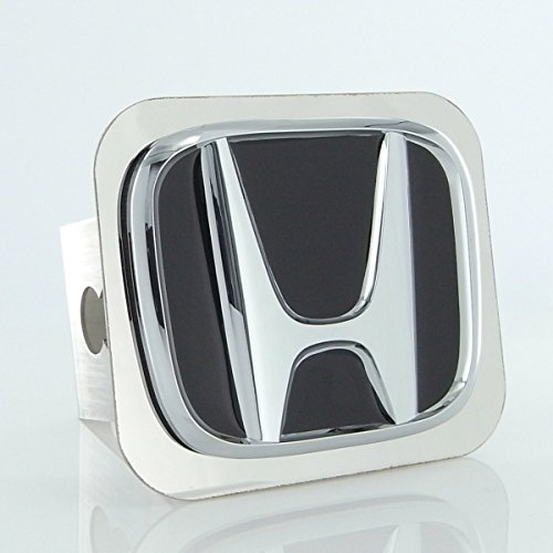 Honda Chrome Logo Trailer Hitch Plug , Chrome , 2 inch  (Trailer Hitch Chrome Plug)