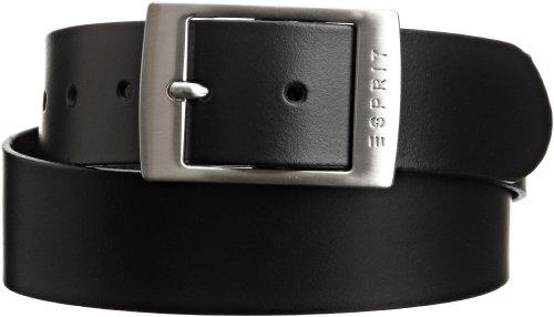 ESPRIT Damen Gürtel 993EA1S902, Gr. 95, Schwarz (001 BLACK)