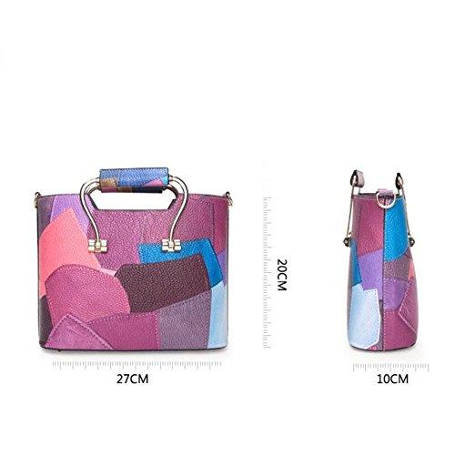 À Bandoulière Oblique Dames Mode Main Sac À Main La Blue Mode À Mode Sac À Bag Nouveau La La GWQGZ Unique Sac À À Bleu Spanning 05qx11