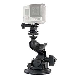 Delkin DDMNT-MINI-GP Fat Gecko Mini Suction Mount for GoPro Cameras (Black)